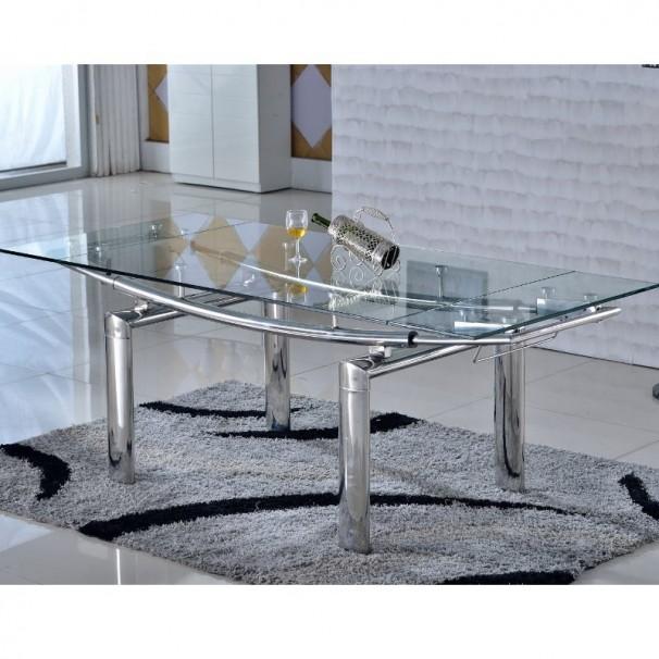 Prix des meuble salle manger - Table en verre a rallonge ...